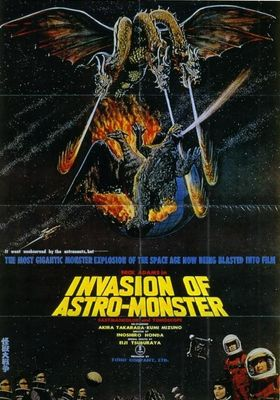 Invasion of Astro-Monster's Poster