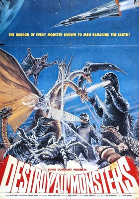 Destroy All Monsters's Poster