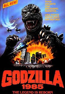Godzilla 1985's Poster