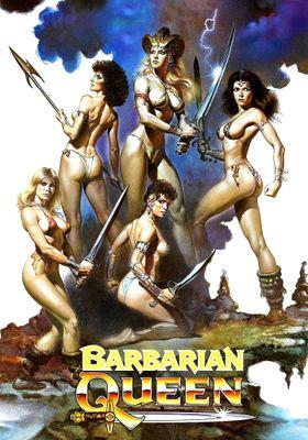 바바리언 여왕의 포스터