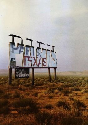 Paris, Texas's Poster