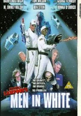 Men in White's Poster