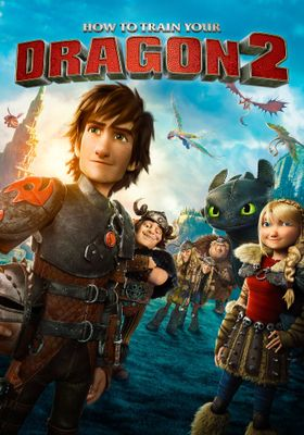How to Train Your Dragon 2's Poster