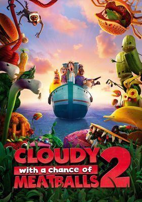 Cloudy with a Chance of Meatballs 2's Poster