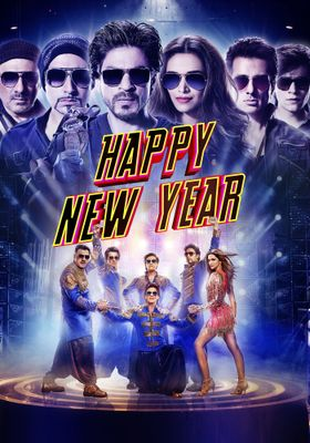 Happy New Year's Poster