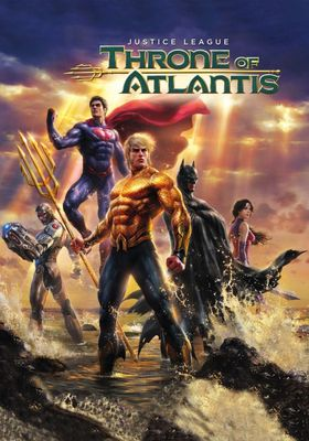 Justice League: Throne of Atlantis's Poster