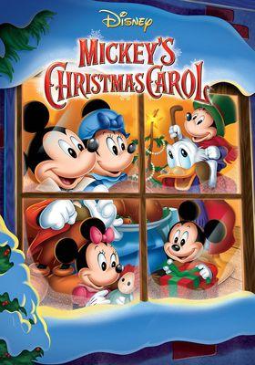 Mickey's Christmas Carol's Poster