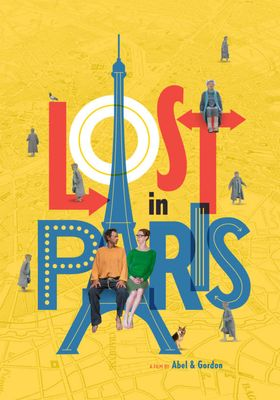 Lost in Paris's Poster