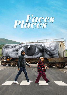 『顔たち、ところどころ』のポスター