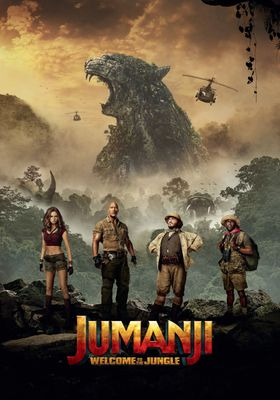 Jumanji: Welcome to the Jungle's Poster