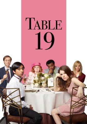 테이블 19의 포스터