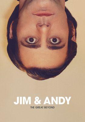 『ジム&アンディ』のポスター
