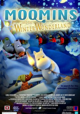 Moomins and the Winter Wonderland's Poster