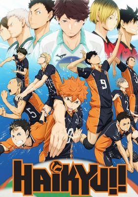 Haikyuu!! Season 1's Poster