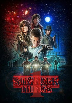 Stranger Things Season 1's Poster