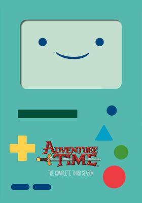 Adventure Time Season 3's Poster