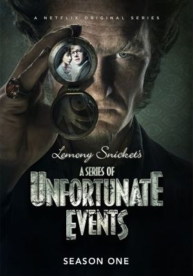 A Series of Unfortunate Events Season 1's Poster