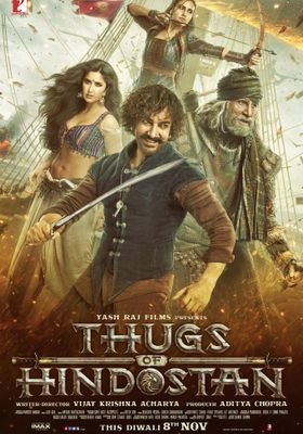 Thugs of Hindostan's Poster