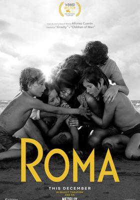 『ROMA/ローマ』のポスター