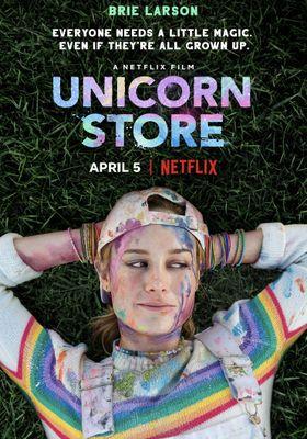 Unicorn Store's Poster