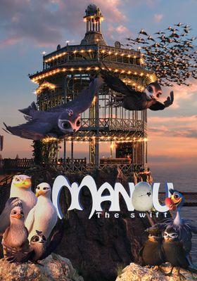 『Manou the Swift』のポスター