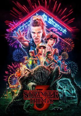 Stranger Things Season 3's Poster