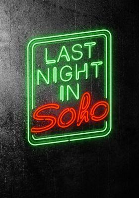 Last Night in Soho's Poster
