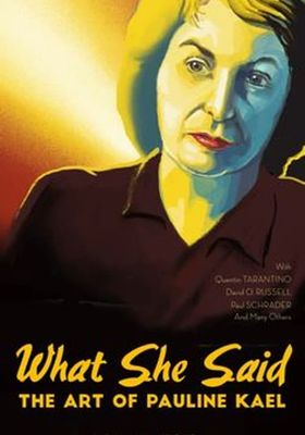 What She Said: The Art of Pauline Kael's Poster