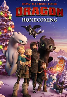 How to Train Your Dragon Homecoming's Poster