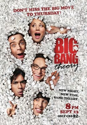 The Big Bang Theory Season 4's Poster