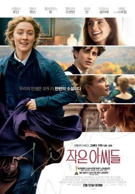 『ストーリー・オブ・マイライフ/わたしの若草物語』のポスター