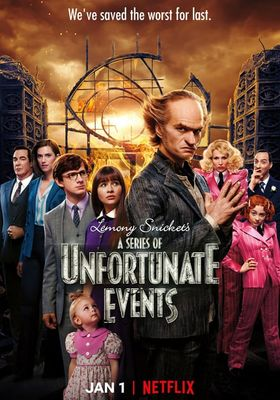 A Series of Unfortunate Events Season 3's Poster