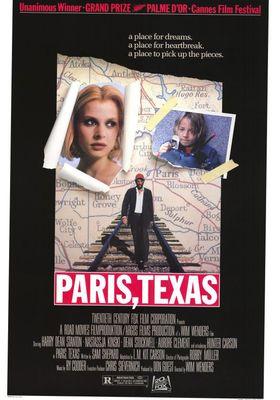 파리 텍사스의 포스터