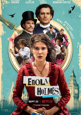 『エノーラ・ホームズの事件簿』のポスター