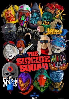 The Suicide Squad's Poster