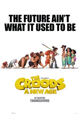 The Croods: A New Age's Poster