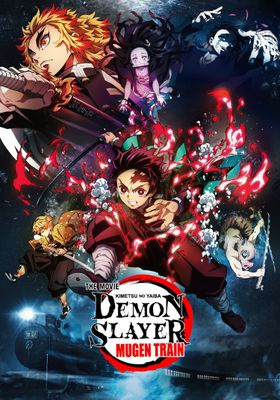 Demon Slayer Movie: Infinity Train's Poster