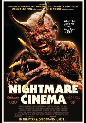 Nightmare Cinema's Poster