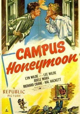 캠퍼스 허니문의 포스터