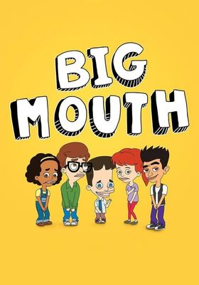 Big Mouth Season 1's Poster