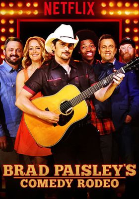 Brad Paisley's Comedy Rodeo's Poster
