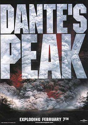 Dante's Peak's Poster