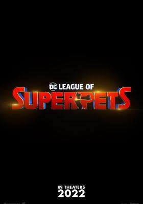 DC 리그 오브 수퍼-펫츠의 포스터