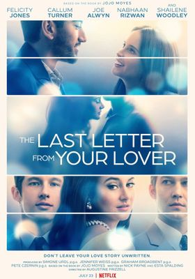 The Last Letter from Your Lover's Poster
