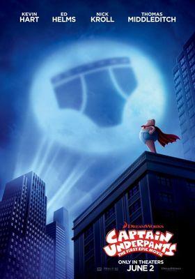 캡틴 언더팬츠의 포스터
