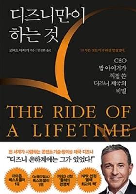 디즈니만이 하는 것 The Ride of a Lifetime's Poster