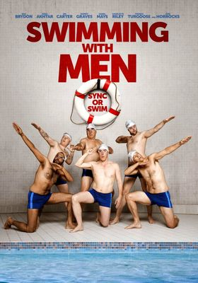 Swimming with Men's Poster