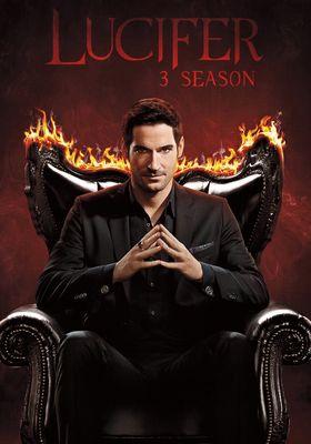 루시퍼 시즌 3의 포스터