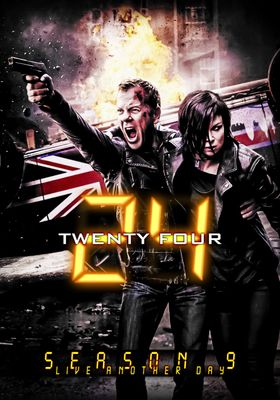 24 Live Another Day Season 9's Poster