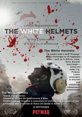 화이트 헬멧 : 시리아 민방위대의 포스터